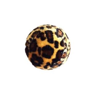 Kattbollar med skrammel - Kattboll med skrammel, leopard