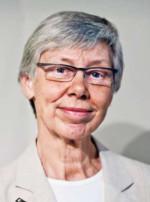 Madeleine Leijonhufvud, Sveriges första kvinnliga professor i straffrätt. Känd debattör i både tv och tidningar.   Foto: Marc Femenia/TT, pressbild