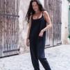 Ekologisk Jumpsuit Blanca från Santa Ni - One Size