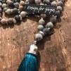 Mala Turkos - Mala Blue med blå silkestofs