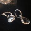 Halsband & Örhänge Glasdroppe - Örhänge glasdroppe/par