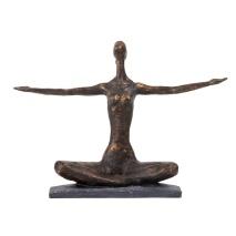 Statyett YOGA med armar ut