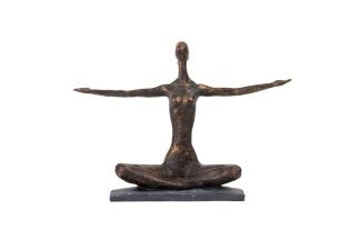 Statyett YOGA med armar ut - Statyett YOGA med armar ut