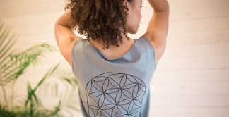 Flower of Life Top - Flower of Life top Strl S