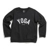 YOGA Sweater Svart - WMY_YOGA Sweater Svart strl M