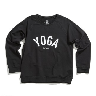 WMY_YOGA Sweater Svart - WMY_YOGA Sweater Svart strl S