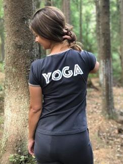 YOGA T-shirt från SantaNi - YOGA T-shirt från SantaNi  Strl L