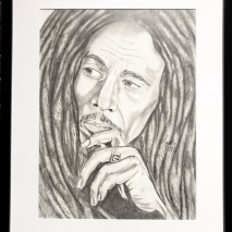 Teckning_Bob Marley