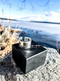 Silverring ANDAS -