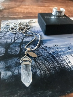 Halsband Bergskristall - Halsband Bergskristall