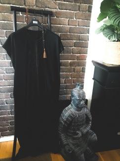 Klänning Marocco - Klänning svart Onesize