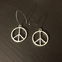 Örhänge_Stort peacemärke