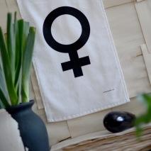 Frottéhandduk EQUALITY FEMALE 30x50 cm
