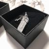 Halsband Bergskristall & Woman sign