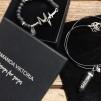 SET Amanda Viktoria - Halsband & armband  i strl L (20 cm)