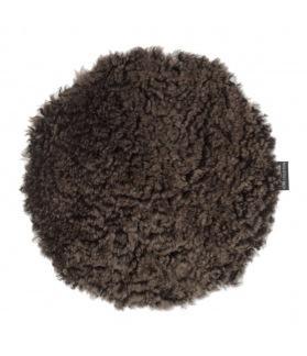 Curly Rug Sittdyna - Curly Rug sittdyna brun