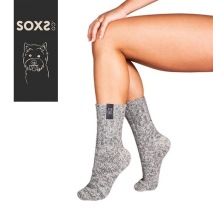 SOXS DOG Mellan modell gråa