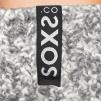 SOXS Hög modell gråa Jet Black label