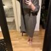 Stickad Klänning Oversize Jessie