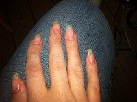 Himla långa naglar