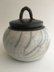 White crack glaze
