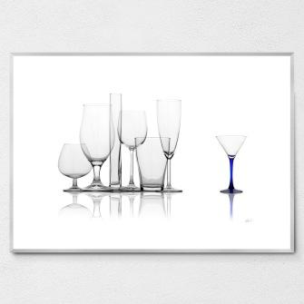 Glass - Carafes BLUE
