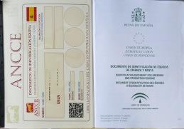 Pass med insatt registreringshandling