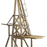 Stegen monterad