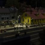 Folkliv på Mohällarne station