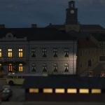 Kväll på hotellet i Ekensholm