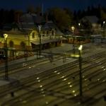 Vi väntar på tåget i Farsarvet