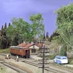Det gamla stationhuset togs i bruk igen
