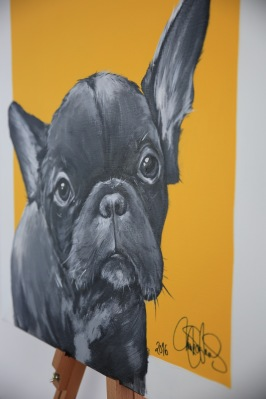 Matilda Skoglund - Dog Frenchie -