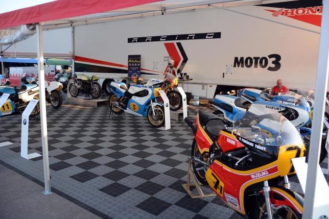Från Depån för hedersklassen Superparad 500cc GP