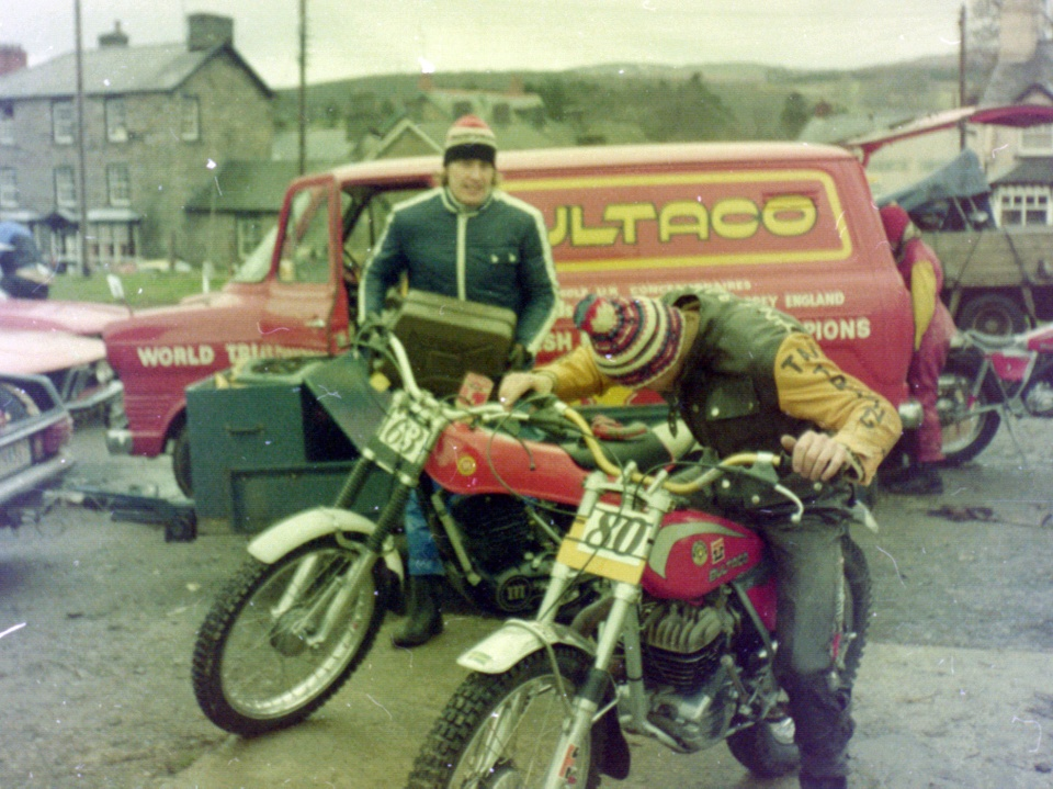 Bild från VM i Wales 1977.