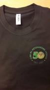 50-års jubileums t-shirt