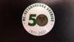 50-års jubileums dekal