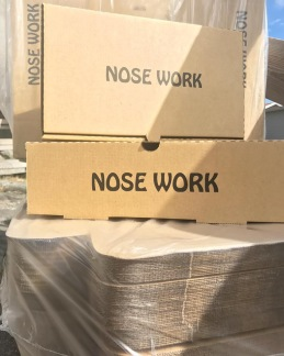 Nose Work kartonger -