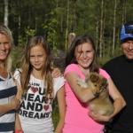 Lapplandia`s Loreen On Top – Tindra 24 Juli 2012 Åtta veckor gammal, flyttar Tindra till sin nya ägareSanna och hennes familj i Töre. Stort lycka till!