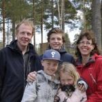 Lapplandia's Eclipse Luna Bor nu med Sara och Torbjörn med familj i Umeå. Stort Lycka till!