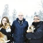 """Lapplandia's Truly Wise – Eevee Eevee bor nu i Bjurfors, Skellefteå med sin familj Molly samt Östen och Anki Södermark med sin mor Lapplanida's Faith Hope And Love """" Tessa"""" Stort lycka till!"""