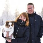 Lapplandia's Truly Loyal – Ron bor nu med sin nya familj Johanna och Mats Alamattila i Luleå. Stort lycka till!