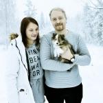 Lapplandia's Truly Brave – Boss Bor hos sin nya husse och matte, Robin och Julia i Vilhelmina.Stort lycka till!