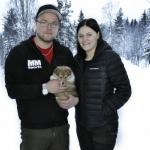 Lapplandia's Eevee –Doris Lilla Doris har nu blivit Piteåbo hos Matilda och Marcus. Stort lycka till!