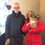 Lapplanda'sNinetales – Disa Bor hos sina nya ägare Christina och Tomas Landström i Vännäs. Stort lycka till!
