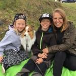 Lapplandia's Truly Loyal Ron med sin familj