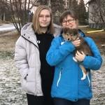 """Lapplandia's Lucky Paw """"Tyra"""" flyttar till Fam Carola Landström, Luleå."""