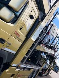 Transportera bilar Europa
