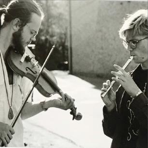 Jonas Liljeström och David Stiernholm. Foto: Kristin Lidell
