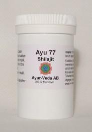 Shilajit (Ayu 77) - Tabletter 2 månader